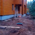 фото монтажа септик дочиста 6 в рузском районе