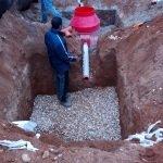 фото монтажа септик дочиста в рузском районе