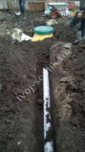 фото установки септика в Ногинском районе 3