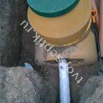 фото установки септика в Ногинском районе 1