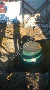 фото установки септика в Ступинском районе 1