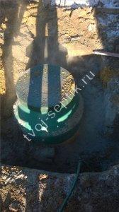 фото установки септика в Ступинском районе 2