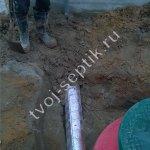 фото септик для бани 10 Фото установки септика дочиста для бани в Ивантеевке