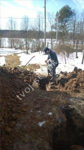 фото установки септика для дачи в Щёлковском районе 6