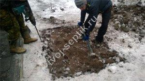 фото установки септика в Щёлковском районе 3