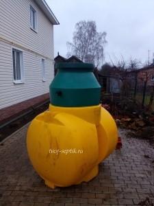 Фото монтажа канализации дома вНогинском районе