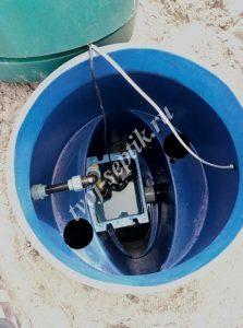 Фото установки септика дочиста на 4 человека в Ногинском районе