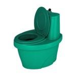 биотуалет зелёный