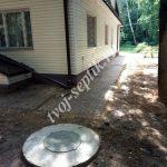 Фото установки бетонных колец для дома в Королёве