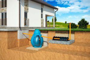 Локальная канализация для дачи и дома