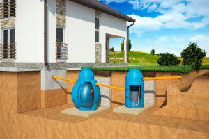 Схема установки септика для дома