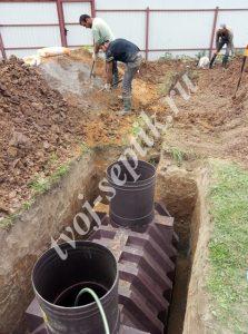 Наружная канализация для дачи