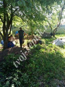 Фото установки септика дочиста до 5 человек в чеховском районе
