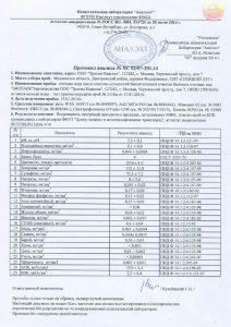 Сертификаты на септики Танк1