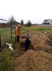 Монтаж установки Септика дочиста 1,2 в Богородском округе