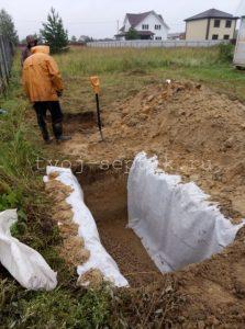 Монтаж септика дочиста 1,2 под ключ в Богородском городском округе