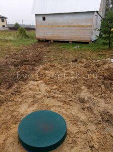 Септик дочиста под ключ для дачи село Ямкино, Богородский городской округ