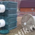 Септик танк универсал-3 и Кессон К-1