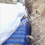 Монтаж инфильтраторов в сергиевом посаде с геотканью