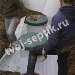 Монтаж и утепление септика в Сергиево-Посадском районе