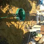 фото установки септика в Ступинском районе 3