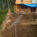 фото монтажа септика Дочиста 4 в Сергиевом-Посаде