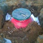 Фото установки септика дочиста в Люберецком районе