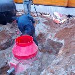 фото установки септика дочиста 7 в рузском районе