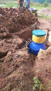 Фото установки септика Дочиста на 5 человек в Талдомском районе