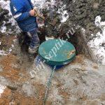 фото монтаж септик дочиста 1,8 в пушкинском районе