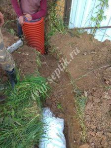 Осушить участок в Одинцовском районе