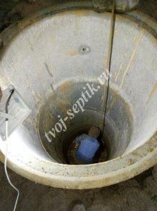Фото установки бетонного колодца в королеве