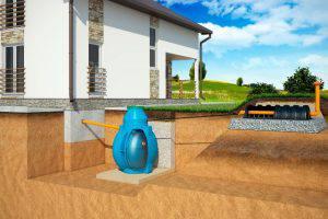 Локальная канализация на дачи