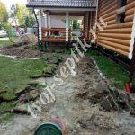 Дренажная система для дома и дачи Лотошино