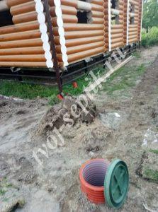 Дренаж вокруг дома в орехово-зуевском районе
