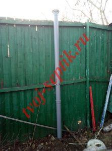 Установка автономной канализации для дома