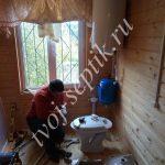 Водопровод в доме в Чеховском районе