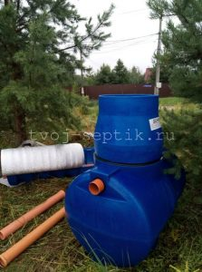 Фото установки Септика дочиста 1,2 в Богородском городском округе 1