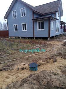 осушение участка Дмитровский район
