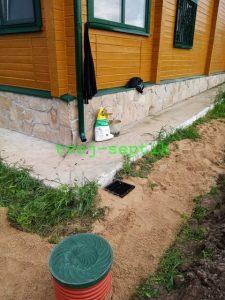 Дренаж участка в Александровском районе16