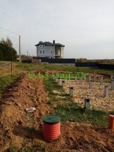 Дренаж участка в Истринском районе-5